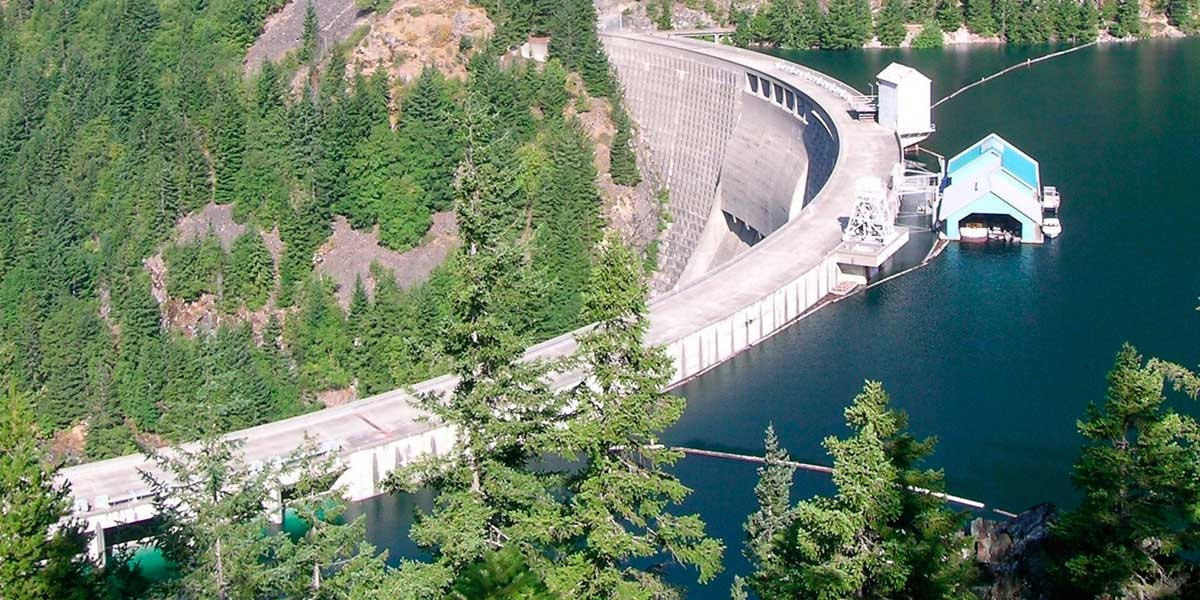 Washington dam